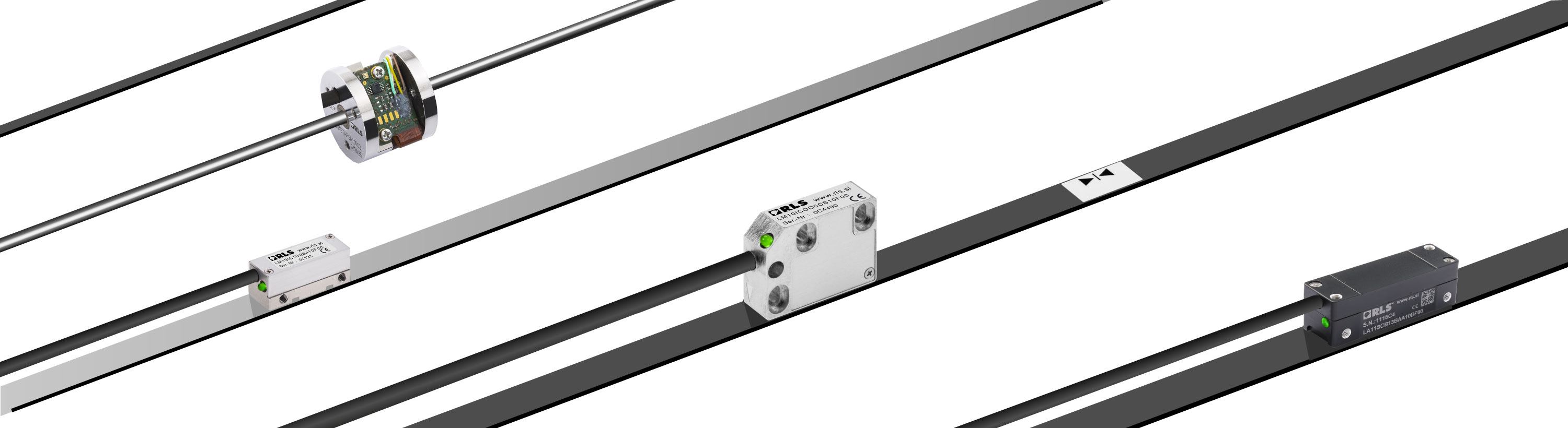Linear magnetic encoders