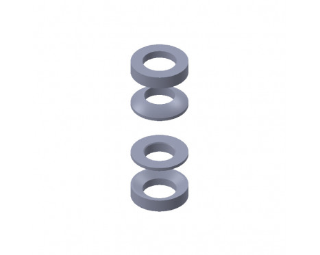 CAACC003 Installation accessory set for LinACE with 12 mm shaft diameter