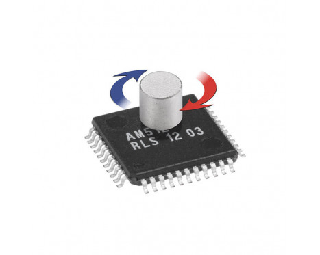 AM512B 9 bit 로터리 마그네틱 엔코더 IC