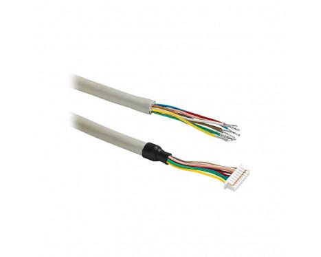 ACC015 Konfektioniertes Kabel FCI, 8-pol., bis zu offenen Kabelenden, 1 m