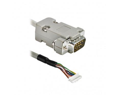 ACC027 Konfektioniertes Kabel Molex, 11-pol., bis zu SUB-D-Stecker 9M, 1 m