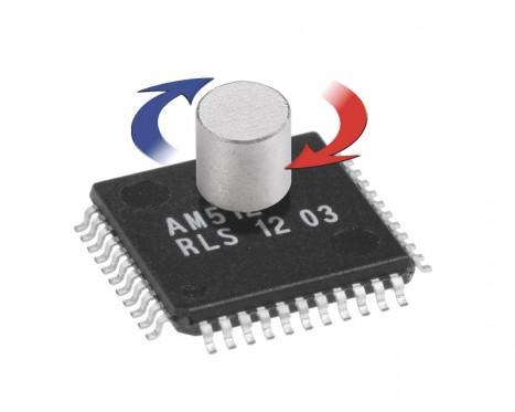 AM512B 9位磁旋转编码器IC