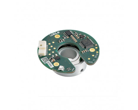 Orbis™ 带备用电池的多圈 绝对式磁旋转编码器模块