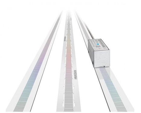 UHV 対応タイプリニアアブソリュート 光学式エンコーダ