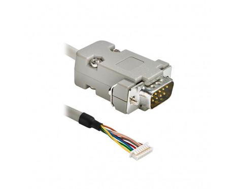 ACC016 ケーブルアセンブリ (FCI 8 ピン、D サブ 9 ピン、1m)