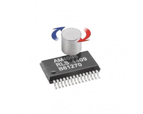 AM4096 磁気式ロータリ 12bit センサー IC