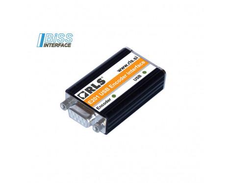 E201 適用於增量式和絕對式 SSI/BiSS 編碼器的 USB 介面