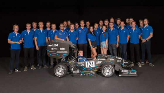 RLS encoder helps to build Formula Student formula car