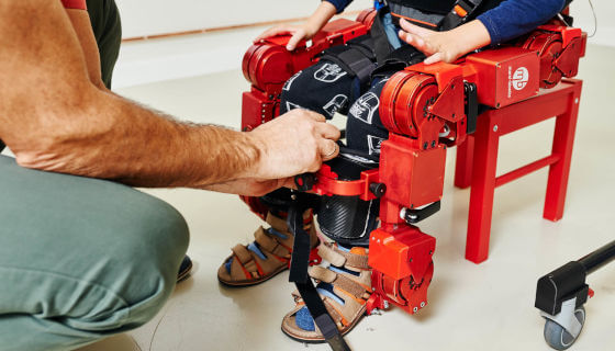 RLS magnetic encoders enable Marsi Bionics to build 'life-changing' exoskeletons