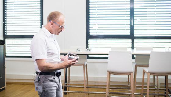 Renishaw and RLS help to drive a robot revolution