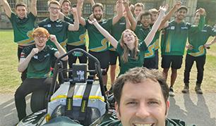 University of Nottingham Racing Team thanks RLS for its recent success